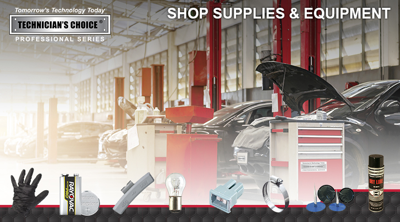 SHOP SUPPLIES & EQUIPMENT